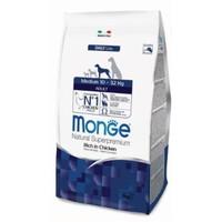 Фотография товара Корм для собак Monge Dog Medium Adult, 3 кг, курица