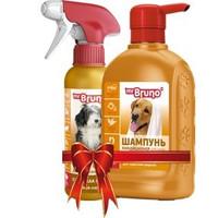 Фотография товара Промонабор для собак Mr. Bruno Глянцевый блеск
