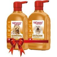 Фотография товара Промонабор для собак Mr. Bruno Послушный шелк