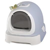 Фотография товара Туалет-бокс для кошек N1 Мак 100, размер 55х42х43см., серый