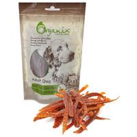 Фотография товара Лакомство для собак Organix Duck fillet/ shredding, 100 г