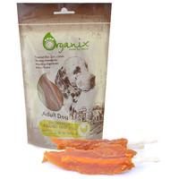 Фотография товара Лакомство для собак Organix Chicken fillet/ bleached twist stick
