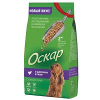 Фотография товара Корм для собак Оскар, 2 кг, Цыпленок с рисом