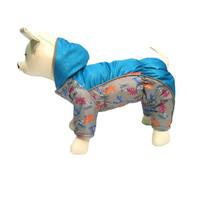 Фотография товара Комбинезон для собак Osso Fashion, размер 32, cиний/серый