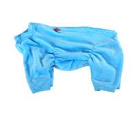 Фотография товара Халат для собак Osso Fashion, размер 70, голубой