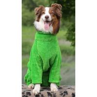Фотография товара Халат для собак Osso Fashion Халат банный , размер 35, зеленый