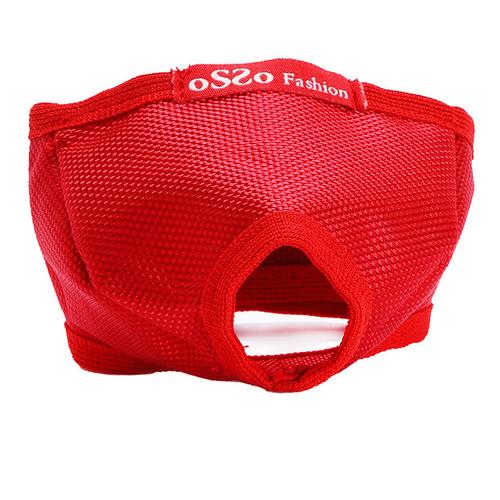 Намордник для кошек Osso Fashion, красный