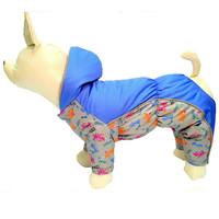 Фотография товара Комбинезон  для собак Osso Fashion, размер 20, серый/синий
