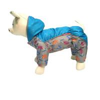 Фотография товара Комбинезон для собак Osso Fashion, размер 35, cиний/серый