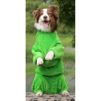 Фотография товара Халат для собак Osso Fashion, размер 50, зеленый