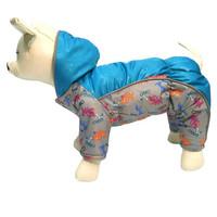 Фотография товара Комбинезон для собак Osso Fashion, размер 25, серый/бирюзовый