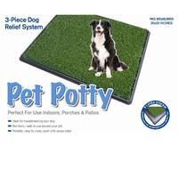 Фотография товара Большой туалет для собак и щенков Pet Potty Big, размер 76х51х3см.