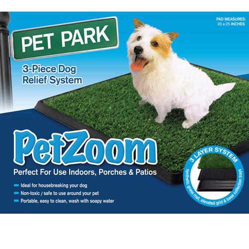 Туалет для собак Pet Zoom Pet Park, размер 63х51х3см.