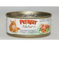 Фотография товара Корм для кошек Petreet, 85 г, тунец с сельдереем