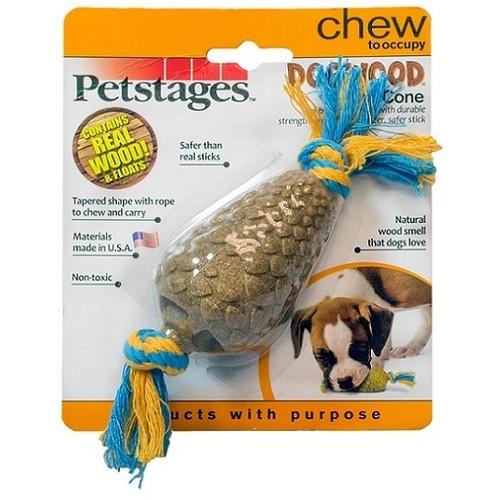 Игрушка для собак Petstages Dogwood Cone, размер 14см.