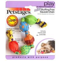 Фотография товара Игрушка для собак Petstages Stuffing free squeak chain, размер 18см.