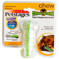 Фотография товара Игрушка для собак Petstages Хрустящая косточка S, размер 10см.