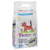 Фотография товара Наполнитель для кошачьего туалета Pretty Cat Wood Granules, 4 кг