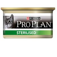 Фотография товара Корм для кошек Pro Plan Sterilised, 85 г, лосось и тунец