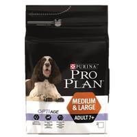 Фотография товара Корм для собак Pro Plan Adult 7+ Medium&Large, 3 кг, курица