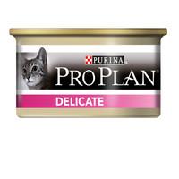 Фотография товара Корм для кошек Pro Plan Delicate, 85 г, индейка