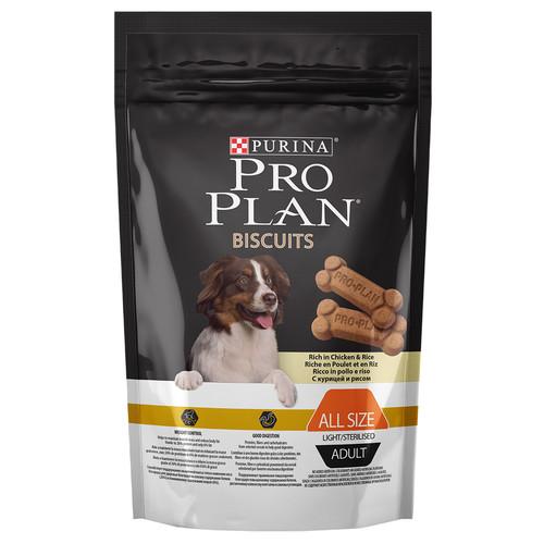 Лакомства для собак Pro Plan, 400 г, курица с рисом