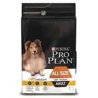 Фотография товара Корм для собак Pro Plan Light-Sterilised Adult All Size, 14 кг, курица с рисом