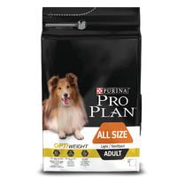 Фотография товара Корм для собак Pro Plan Adult Light/Sterilised All Size, 3 кг, курица