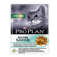 Фотография товара Корм для кошек Pro Plan Sterilised, 85 г, океаническая рыба
