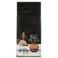 Фотография товара Корм для собак Pro Plan Adult 7+ Medium&Large, 14 кг, курица