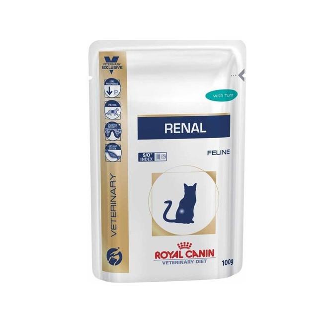 Корм royal canin renal with tuna