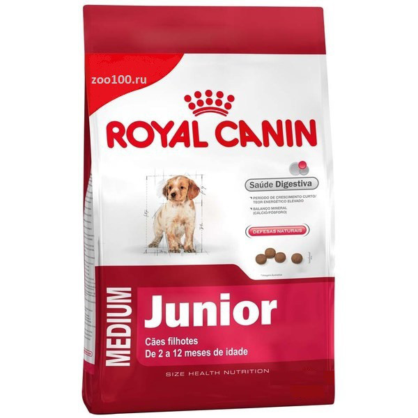 Корм royal canin junior canine