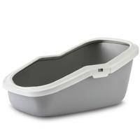 Фотография товара Туалет для кошек Savic Aseo, размер 56x39x27.5см., серый