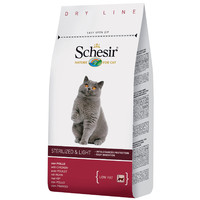Фотография товара Корм для кошек Schesir Sterilized & Light, 400 г, курица