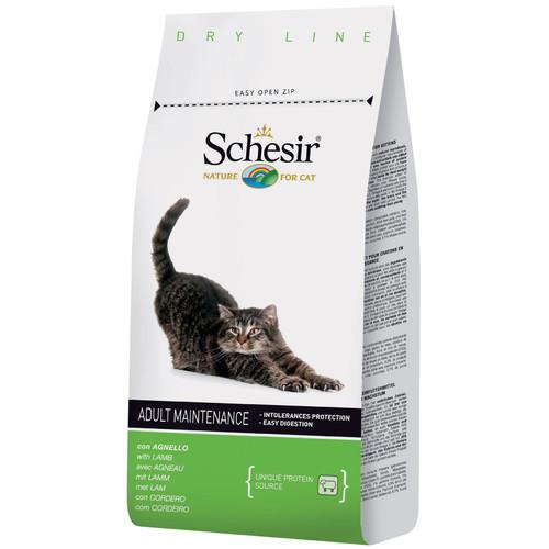 Корм для кошек Schesir Adult Maintenance, 400 г, ягненок