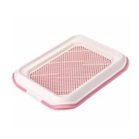 Фотография товара Туалет для собак Стандарт, размер 48.5х37.5см., розовый