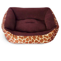 Фотография товара Лежак для собак Triol жираф, размер 54x44x18см., коричневый