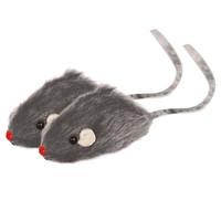 Фотография товара Игрушка для кошек Triol Мышь серая, размер 5см.
