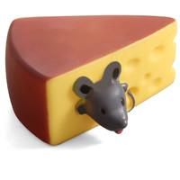 Фотография товара Игрушка для собак Triol Мышка в сыре, размер 10х8х5см.