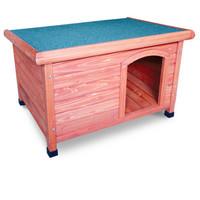 Фотография товара Деревянная будка для собак Triol, размер 103.7x66x77см.