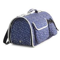 Фотография товара Сумка-переноска для собак и кошек Triol Стефани, размер 43.5х27х25см., синий