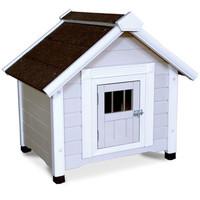 Фотография товара Деревянная будка для собак Triol, размер 81x65x76см.