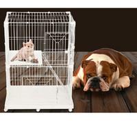Фотография товара Клетка для животных Triol, размер 90x60x120см.