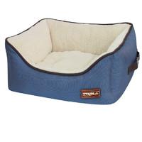 Фотография товара Лежанка квадратная для собак Triol Лондон S, размер 40х40х19см.
