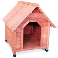 Фотография товара Деревянная будка для собак Triol, размер 82x100x90см.