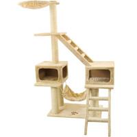 Фотография товара Игровой комплекс для кошек Triol, размер 80х61х166см., цвета в ассортименте