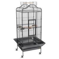 Фотография товара Клетка для птиц Triol, размер 82х77х156см., черный