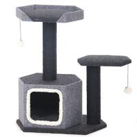 Фотография товара Игровой комплекс для кошек Triol, размер 60х40х77см.