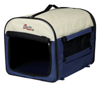 Сумка-переноска для собак и кошек Trixie Kennel XS-S, сине-серый, размер 55х40х40см.