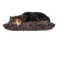 Лежак для собак Trixie Marino, бежевый-коричневый, размер 100х70х9см.